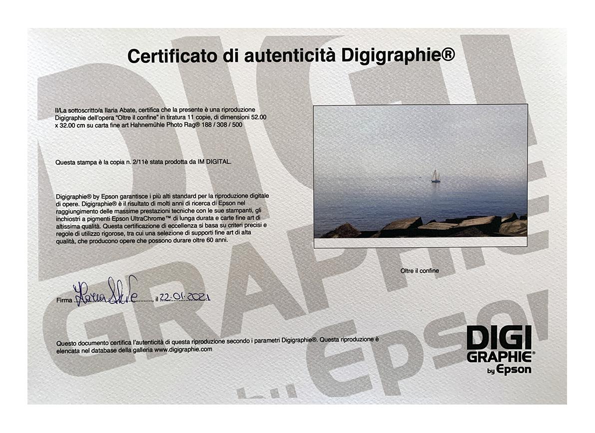 Certificazione DigiGraphie by Epson. Tiratura 2/11