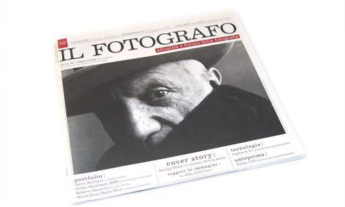 """Numero de """"Il Fotografo"""" contenente pubblicazione"""
